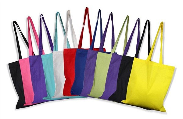 PRINTED PROMOTIONAL COTTON TOTE BAGS