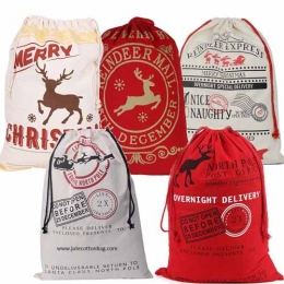 Wholesale Christmas Drawstring Bags Manufacturers in Los Angeles