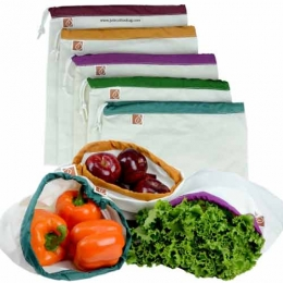 Wholesale Organic Cotton Vegetable Bags Manufacturers in Singapore