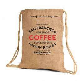 Wholesale Jute Backpack Bags Manufacturers in California