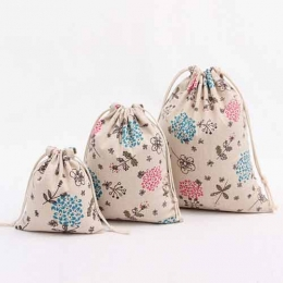 Wholesale Organic Cotton Fabric Drawstring Bag Manufacturers in Los Angeles