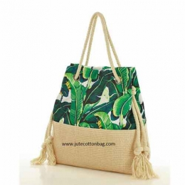 Wholesale Two Tone Summer Shopping Handbag Manufacturers in Singapore