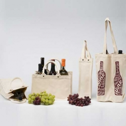 Wholesale Two Bottle Graps Wine Bags Manufacturers in California