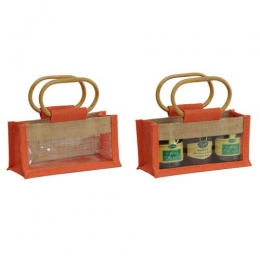 Wholesale 3 Bottle Jute Jar Bags Manufacturers in California