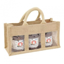 Wholesale Colorful Printed Jute Jar Bags Manufacturers in Canada