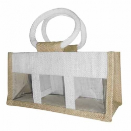 Wholesale Colorful Printed Jute Jar Bags Manufacturers in Italy