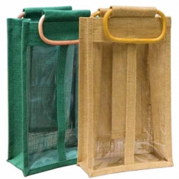 Wholesale Two Bottle Jute Bags Manufacturers in California